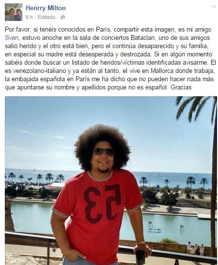 venezolano en paris