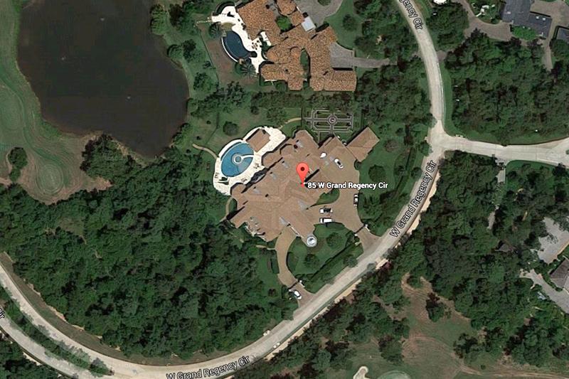 East 85W Grand Regency Circle Spring . The Woodlands, Houston, EE.UU / Google Maps