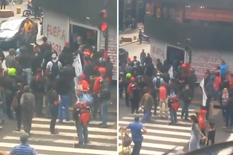 Grupos-oficialistas-en-actos-de-bandalismo-McDonalds