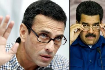 ¿ALÓ, NICOLÁS? Capriles exigió a Maduro dar la cara tras declaración de uno de los narcosobrinos