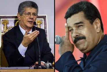 ¿TRAICIÓN? Ramos Allup: A Maduro su misma gente lo va a revocar para quitarse esa desgracia de encima