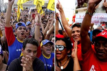 ¡ATENCIÓN! Marchas de la oposición y el oficialismo se cruzan este martes #4Abr
