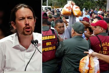 ¡QUE VENGA A HACER SU COLA! Pablo Iglesias siente envidia por españoles que viven en Venezuela