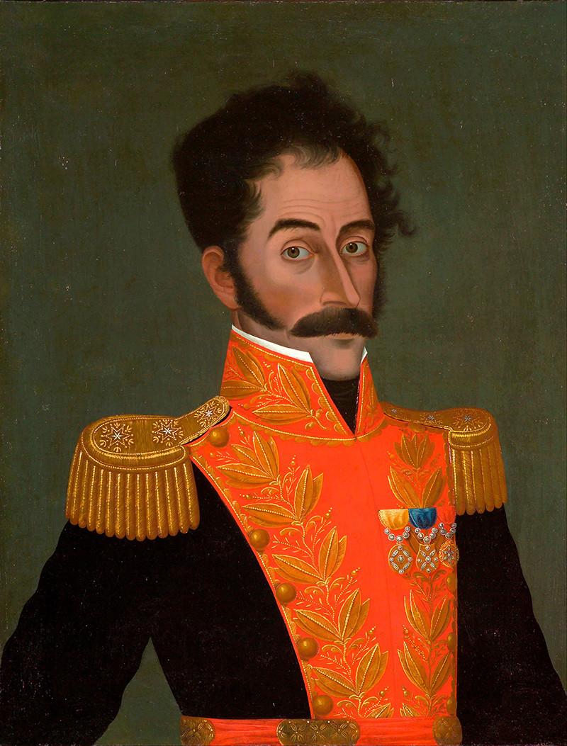 Cuadro de Simón Bolívar / Créditos: El Estímulo.