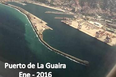 ¡LOGROS DEL SOCIALISMO! Más imágenes del desolado y fantasmal puerto de La Guaira  (+Fotos)