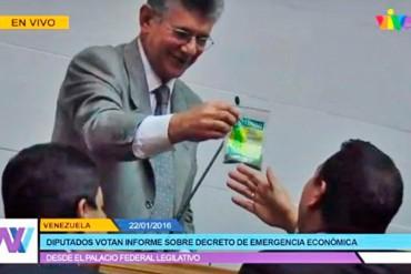 ¡IMPERDIBLE! Así fue como Henry Ramos Allup le ofreció Moringa a los alterados del PSUV (+Video)