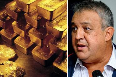 ¡RASPAN LA OLLA! Del Pino informó que más de 7 mil toneladas de oro podrían ser monetizadas