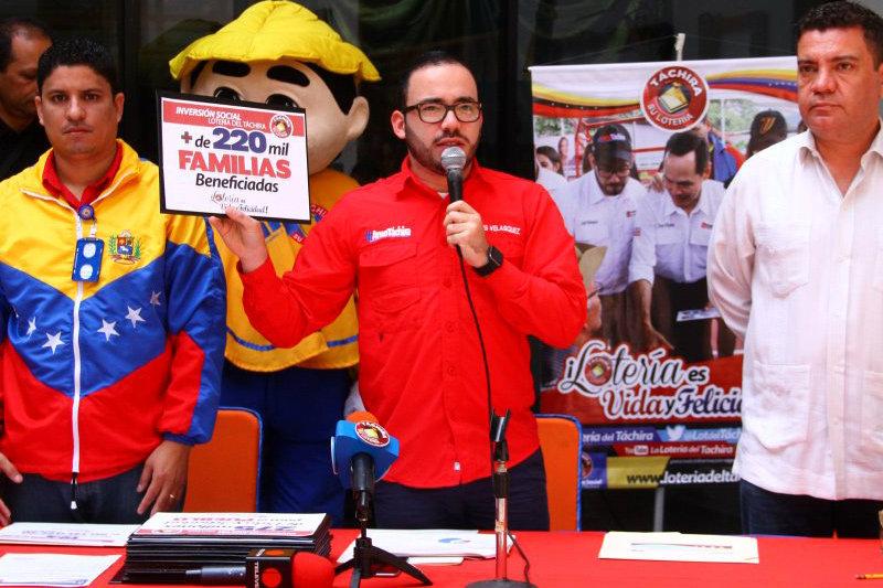 Créditos: Lotería del Kino Táchira