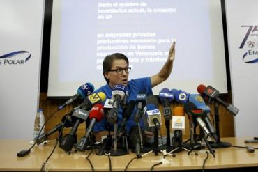 """Lorenzo Mendoza: """"Por cada dólar, Polar es 18 veces más eficiente que importaciones del Estado"""""""