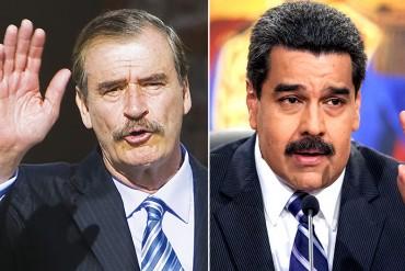 ¡COMO DEBE SER! Vicente Fox: México se mantiene firme contra la dictadura de Maduro