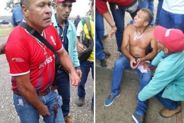 ¡REPRESIÓN BRUTAL! Funcionarios de la GNB disparan a trabajadores de Sidor que protestaban