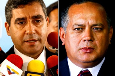 "¡GUERRA A CUCHILLO! Las ""puntas"" que le lanzó Diosdado Cabello a Miguel Rodríguez Torres"