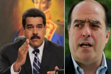 """¡NO TE LO PIERDAS! El """"clarísimo"""" mensaje de Julio Borges a un Maduro """"cegado por la terquedad""""  (+Video)"""