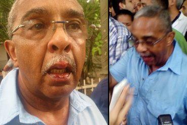 ¡VIOLENTOS DESATADOS! Agredieron al diputado José Trujillo en el Hospital Central de Maracay