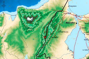 ¡SIGUE TEMBLANDO! Sismo de magnitud 3.6 al oeste de Machiques, en el estado Zulia