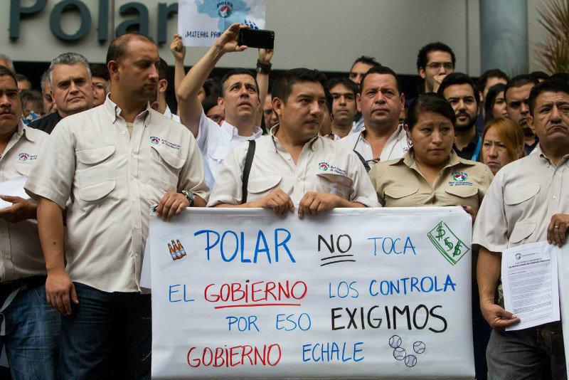 Trabajadores-de-Empresas-Polar-exigen-divisas-al-gobierno-4