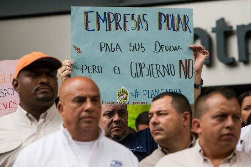 Trabajadores-de-Empresas-Polar-exigen-divisas-al-gobierno-5