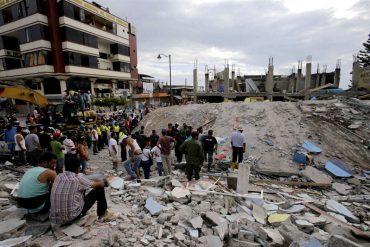 ¡DEVASTADOR! Un terremoto de 6,1 sacudió nuevamente a la ya herida costa norte de Ecuador