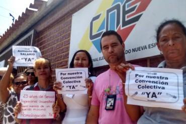 ¡SE ALBOROTÓ EL AVISPERO! Sindicato del CNE exige renuncia de Tibisay Lucena por violación de derechos