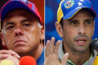 """¡SIGUE EL CIZAÑERO! Jorge Rodríguez: """"Capriles propuso sacar a Henri Falcón del diálogo"""""""