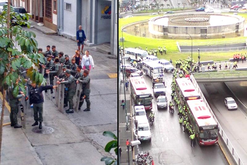 Foto: @Caracas_News / @Estudiant3