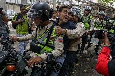 ¡ATENCIÓN! Foro Penal registró 41 detenciones durante manifestación opositora del 18M