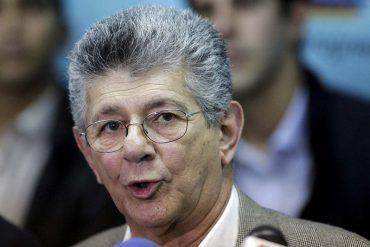 ¡ATENTOS! Ramos Allup advierte que Sala Constitucional del TSJ prepara sentencia contra AN