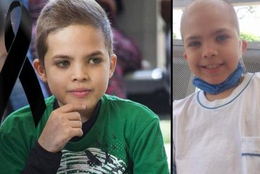¡DESGARRADOR! Fallece Alexander Guerra, otro pequeño que murió por falta de medicamento