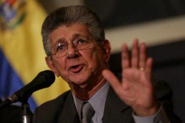 """¡CLARO Y RASPA'O! Ramos Allup criticó que los militares controlen """"hasta el estómago"""" del venezolano"""