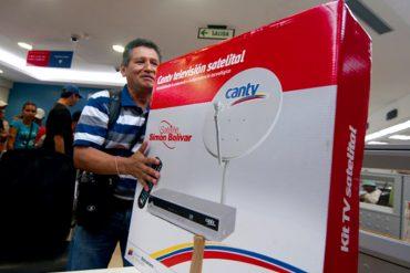 ¡OTRO GOLPE AL BOLSILLO! CANTV satelital no se quedó atrás y también aumentó sus precios