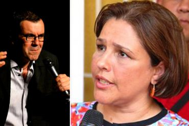¡IMPELABLE! Lo que le dijo Laureano Márquez a la ministra Luisana Melo