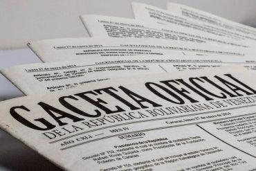¡EN GACETA! Publican decreto que obliga a partidos opositores a renovar su inscripción en el CNE