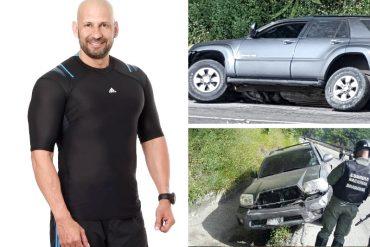 ¡ENTÉRATE! Richard Linares sufrió un accidente de tránsito en la Autopista Regional del Centro