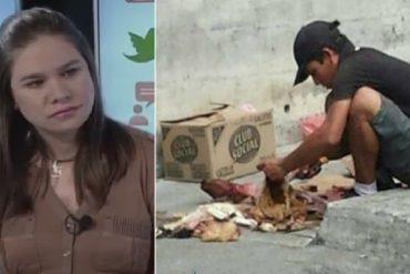 ¡CARA 'E TABLA! Diputada chavista: Venezolanos no mueren de hambre ni hay desnutrición