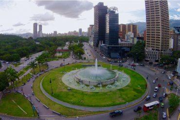 ¡TIEMBLAN DE PÁNICO! Así está Plaza Venezuela a pocas horas de la Toma de Caracas (+Fotos)