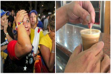 ¡IMPAGABLE! Más de la mitad del sueldo mínimo cuesta un café con leche en Caracas