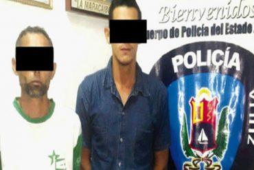 ¡IMPÍOS! Son capturados cuando robaban cables del Monumento a la 'Chinita' en Maracaibo