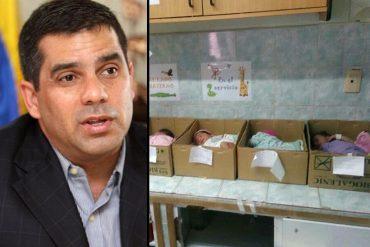¡DESCARO! Presidente del I.V.S.S. desmiente que en hospital de Anzoátegui coloquen a bebés en cajas