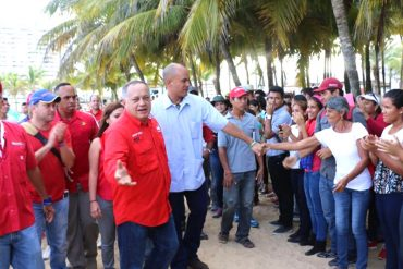 ¡DE LO ÚLTIMO! «La llave de los buses la tengo yo»: Así intimidó Cabello a los chavistas en Margarita (+Video)