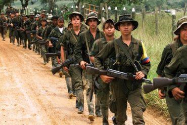 ¡LO QUE FALTABA! Aseguran que la guerrilla colombiana podría migrar por completo a Venezuela