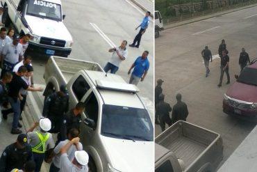 ¡UN ATROPELLO MÁS! Así se llevaron detenida a gerente de Polar en Yaracuy (+Fotos)