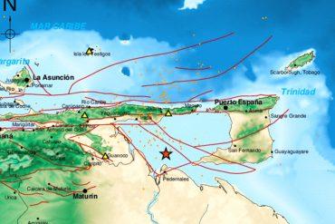 ¡LA TIERRA TIEMBLA! Funvisis reportó sismo de 3.2 al norte de Delta Amacuro