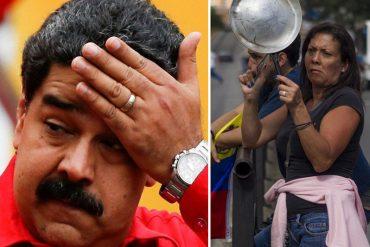¡NO LO QUIEREN! El fuerte cacerolazo que se escuchó en las inmediaciones del Palacio de Miraflores tras conocerse resultados de elecciones (+Video)