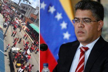 ¡SE QUEDAN SIN GENTE! Así estuvo la marcha del PSUV liderada por Jaua en Cojedes (Fotos)