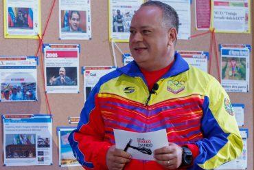 ¡RÍETE, PUES! Diosdado Cabello: Compararon a Trump con Chávez para que perdiera, pero ganó