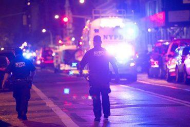 """¡TERROR! Explosión sacude Manhattan y deja al menos 29 heridos. Fue un """"acto deliberado"""" (+Videos)"""