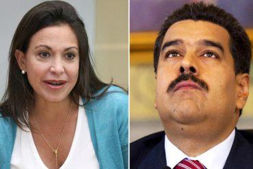 """¡DURA! Machado: """"Lo que queda es una ruta de coraje, el régimen quiere imponer silencio y sumisión al costo que sea"""" (+Video +Frases contundentes)"""