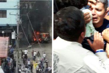 ¡ÚLTIMA HORA! Reportan disturbios en Mérida: hay decenas de heridos (+Video +Fotos)
