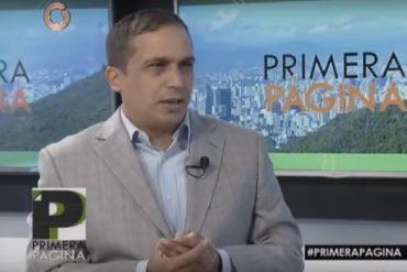 ¡CARA 'E TABLA! Edwin Rojas: O son las elecciones o es que resolvamos el problema económico (+Video)