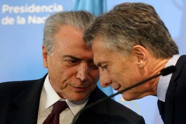 ¡AY, NICOLÁS! Argentina y Brasil ponen a Venezuela contra las cuerdas en caso Mercosur